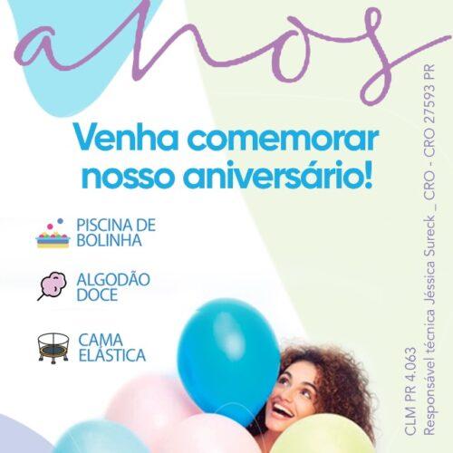 Festa de Aniversário da clínica